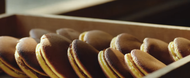 Dorayakis, spécialité japonaise à base de pancakes et de pâte de haricots rouges que l'on voit dans le film Les délices de Tokyo