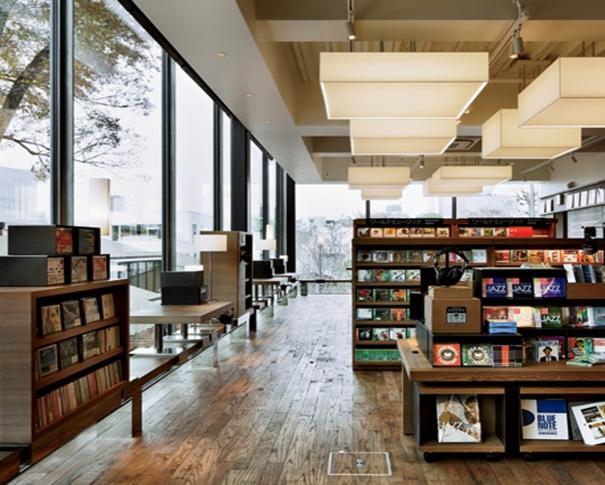 Librairie Tsutaya située dans le quartier de Daikanyama à tokyo, au Japon où nous allons passer une année en PVT