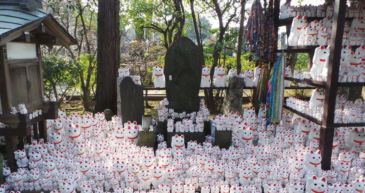 Temple insolite à visiter à Tokyo