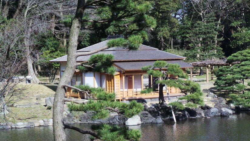 Idée de balade à Tokyo : jardin Hama-Rikyū à Tokyo, Japon