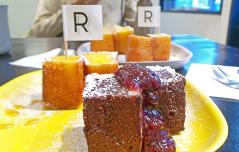 R-fritters, bonne adresse pour le goûter à Shimokitazawa