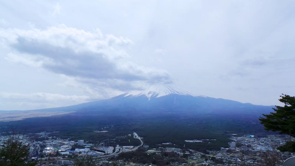 Le mont Fuji vu de Kawaguchiko, près de Tokyo.