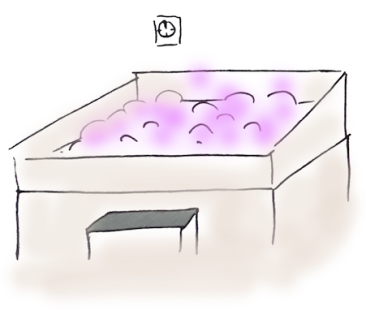 Bain lavande onsen