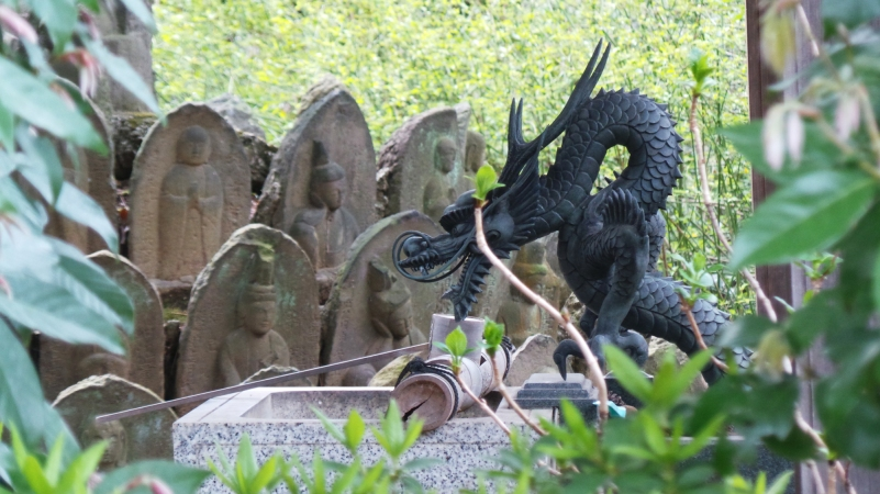 Temple Shinsei ji dragon