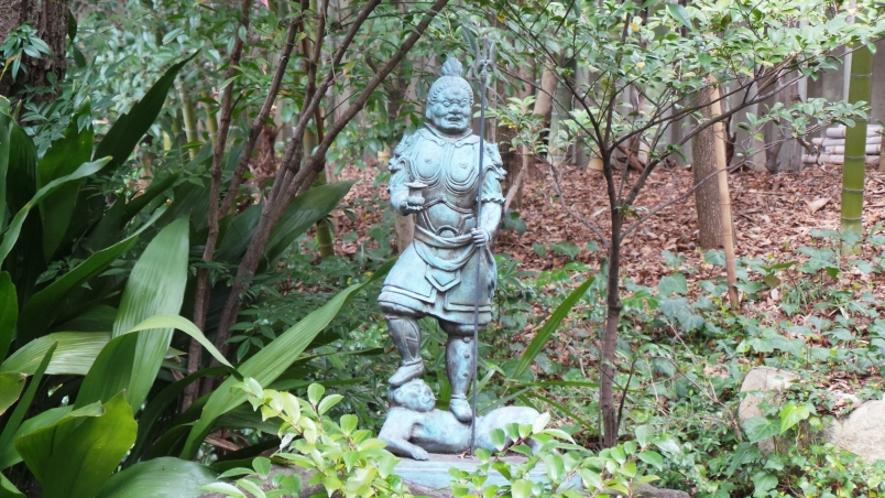 Temple Shinsei ji scultpure