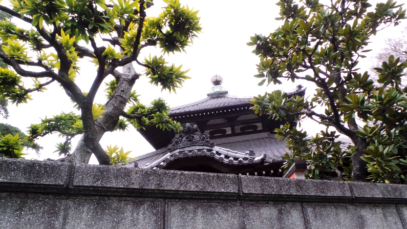 Temple Soenji Tokyo toit