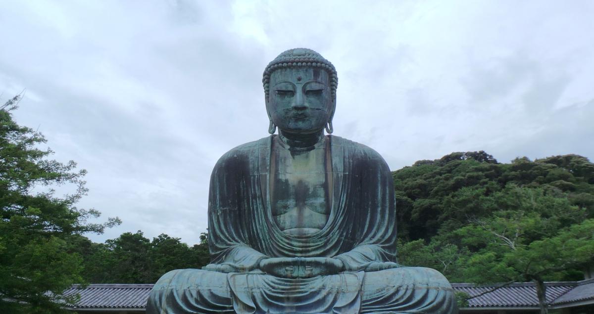 Bouddha géant Daibutsu à visiter à Kamakura