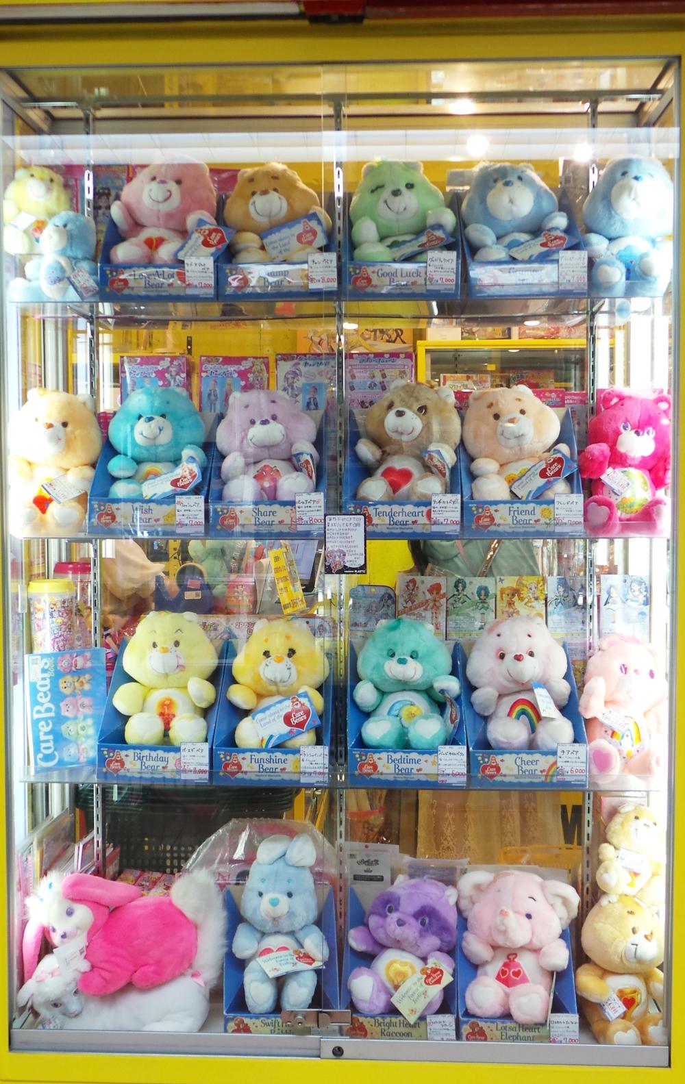 Jouets de collection à Nakano Broadway, un centre commercial insolite