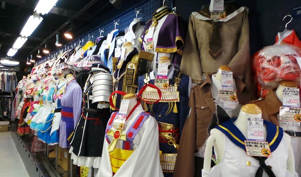 Magasin de cosplay à Nakano Broadway, un centre commercial insolite