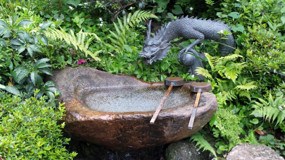Dragon au temple d'Enoshima