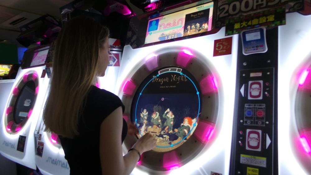 Aller au game center à Tokyo