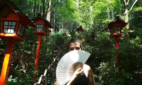 L'éventail, accessoire indispensable à Fukuoka