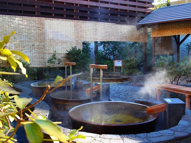 Se baigner dans un onsen à Tokyo