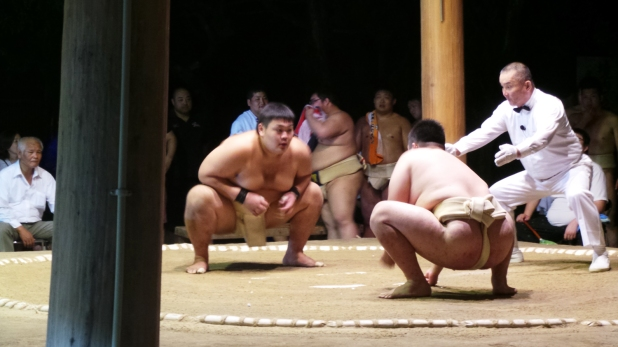 Visite de Fukuoka : Masturi et sumo au sanctuaire Sumiyoshi à Hakata
