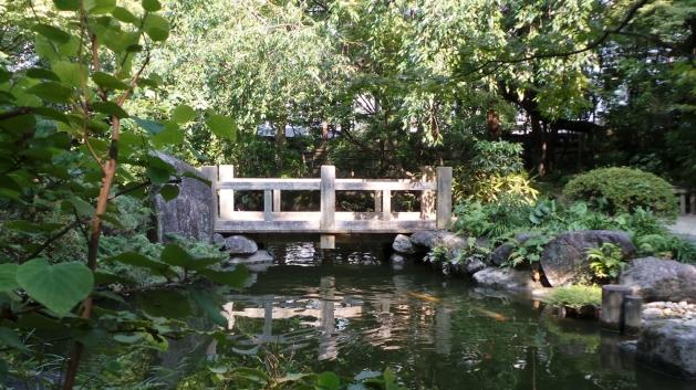 Visite de Fukuoka : le jardin rakusuien à Hakata