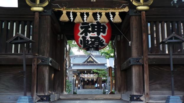 Visite de Fukuoka : le sanctuaire Kushida à Hakata