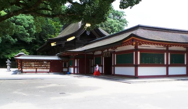 Vue sur le sanctuaire Tenmangu de Dazaifu, Fukuoka