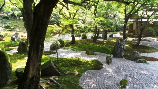 Jardin du temple Komyozenji à Dazaifu, Fukuoka
