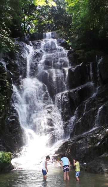 La cascade Shiraito, Itoshima, Kyushu, Japon