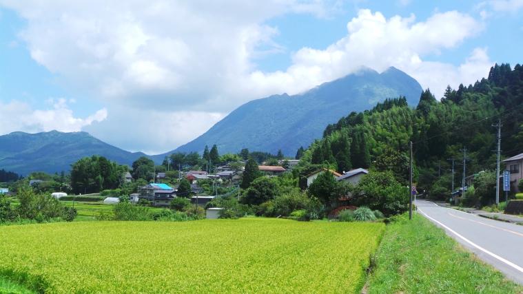 Le mont Kuju près de Yufuin, Kyushu