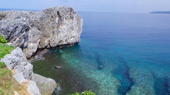 L'un des caps d'Okinawa, Japon