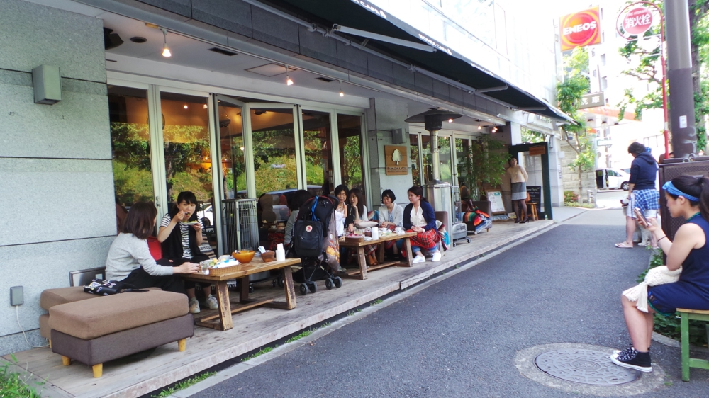Yoyogi, quartier branché de Tokyo, Japon.