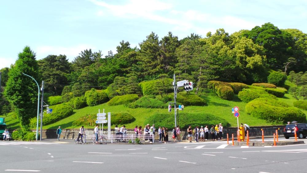 Le parc de Yoyogi, quartier branché de Tokyo, Japon.
