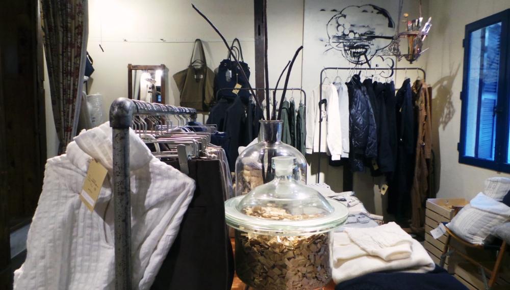 Boutique branchée à Nakameguro, Tokyo, Japon.