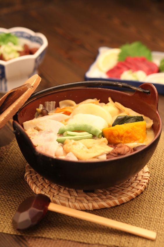 Hōtō, spécialité culinaire de Yamanashi pouvant être végétarienne, Japon