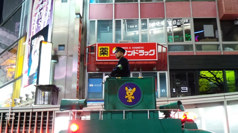 Le crossing de Shibuya le soir du nouvel an