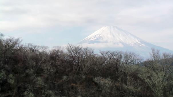 Mont Fuji vu de Hakone