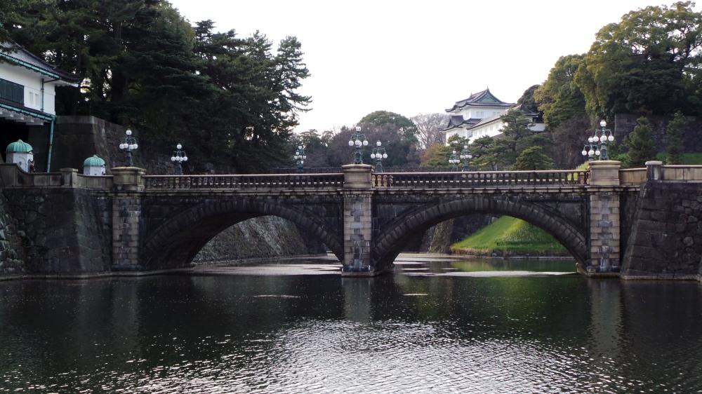 Visite du palais impérial du Japon à Tokyo.