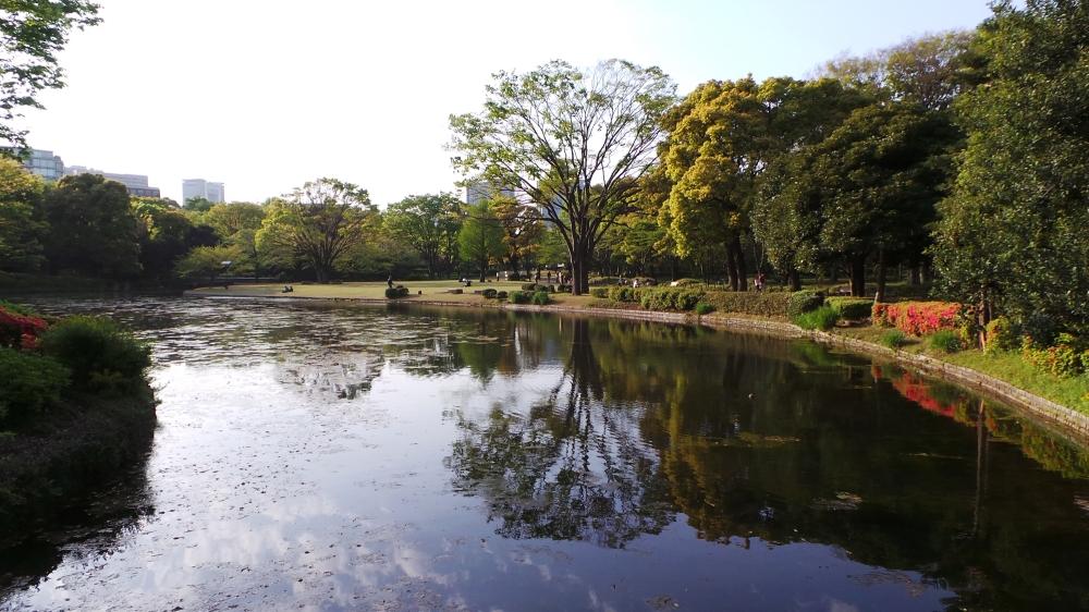 parc Kitanomaru, un espace vert agréable à l'est du palais impérial de Tokyo.