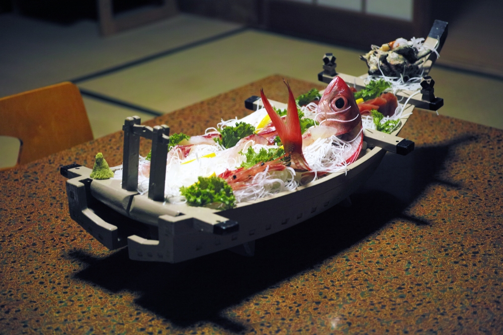 Ryouri no yado, Ebisuya (漁師の宿 えびす屋) à Kumomi, Matsuzaki, Shizuoka, Japon