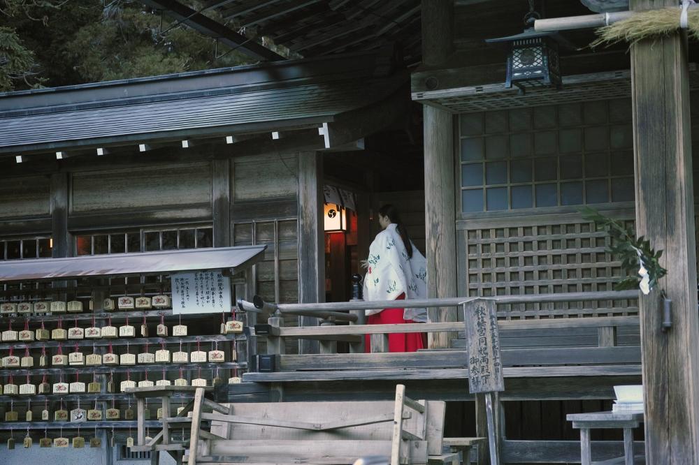 Sanctuaire Okuni Jinja, Hamamatsu, préfecture de Shizuoka, Japon.