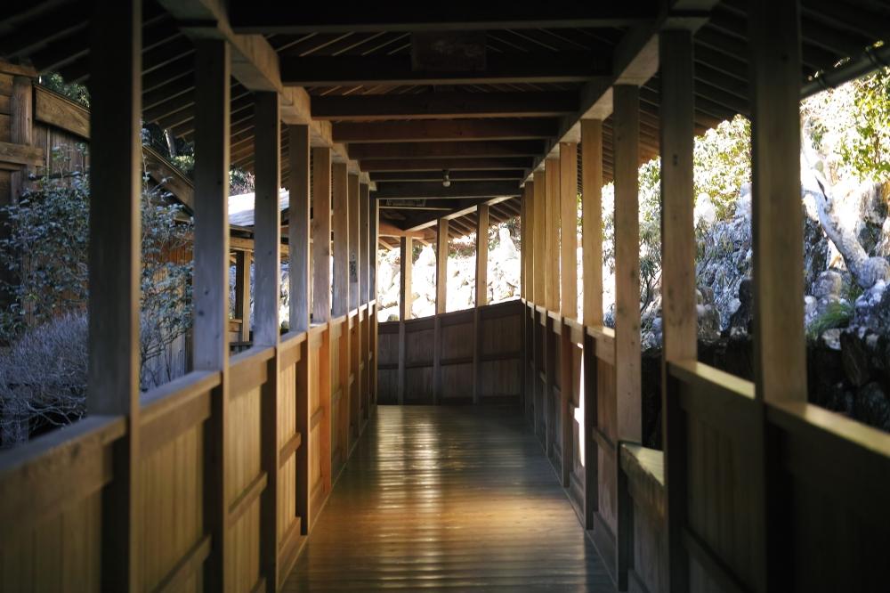 Couleur extérieur du temple Okuyama Houkouji, préfecture de Shizuoka, Japon.