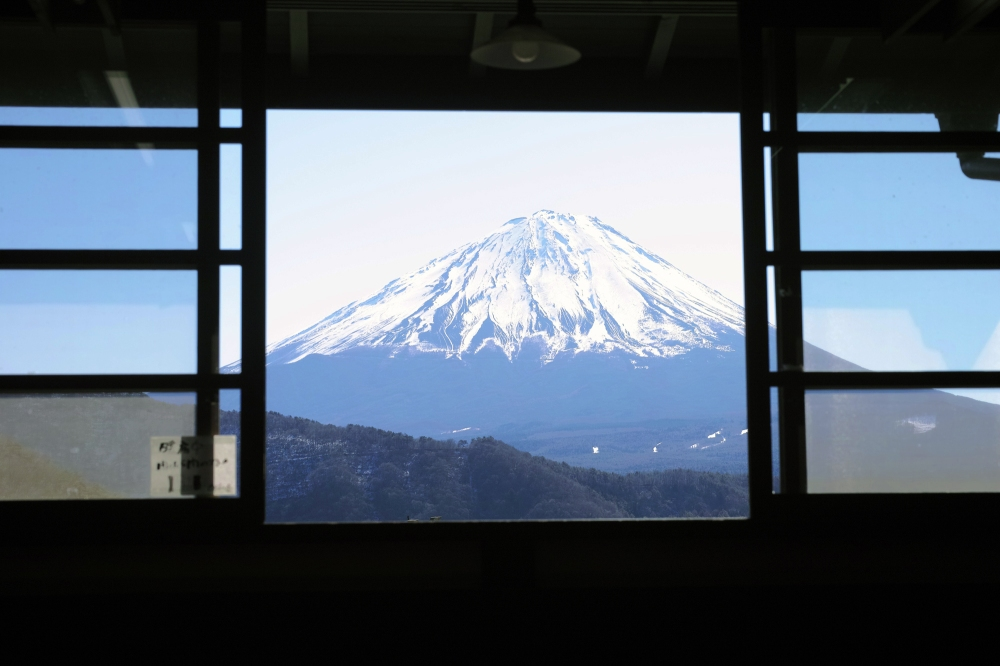 Visite du village folk d'Iyashi no Sato à Fujikawaguchiko, au pied du Fuji, Japon