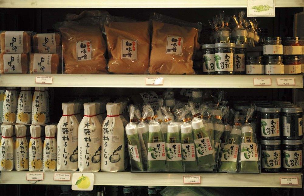 Une sélection de bons produits japonais à Paris