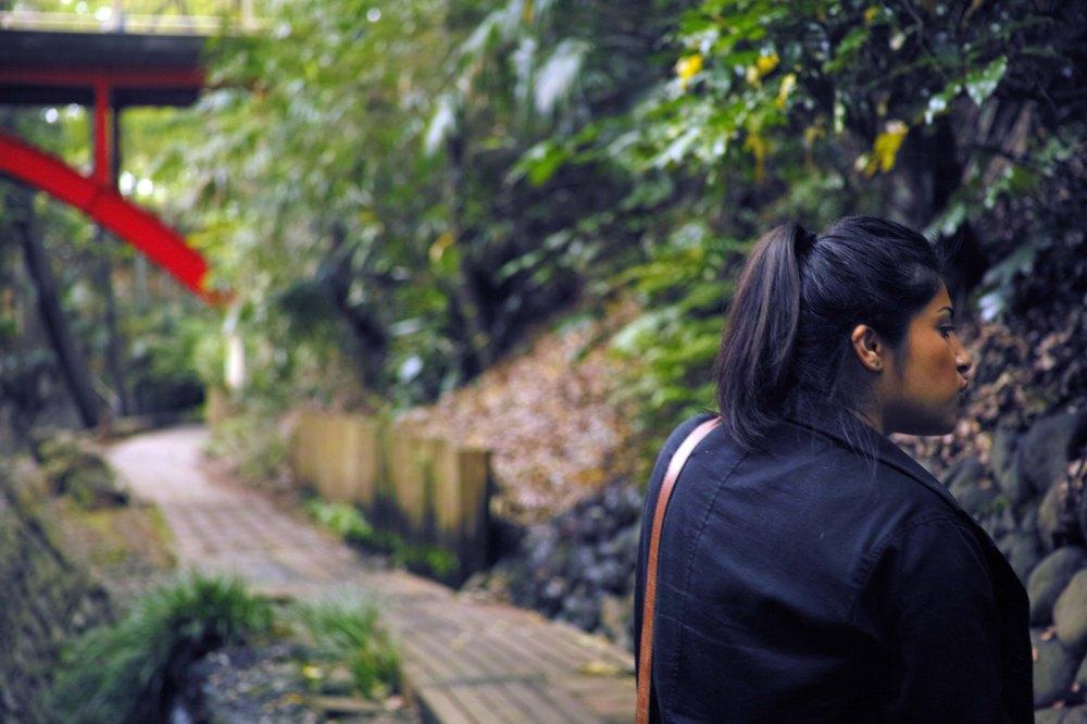 Promenade dans la nature à Tokyo