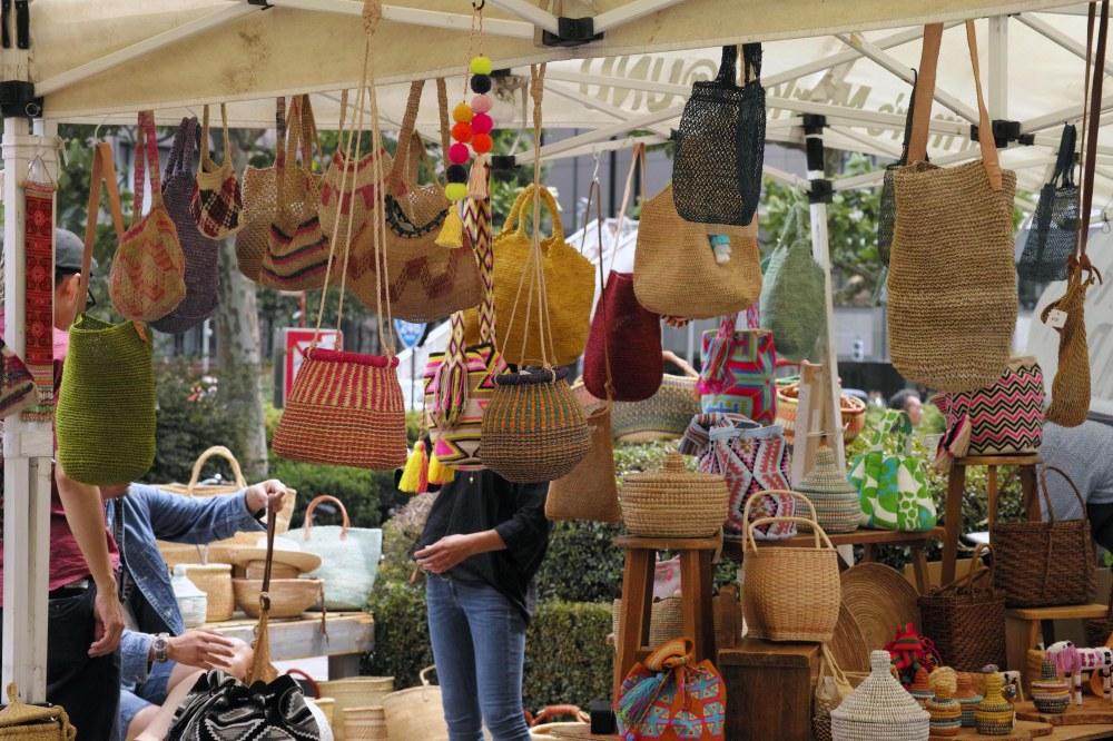 Aoyama farmers market, marché de producteurs à Tokyo, Japon