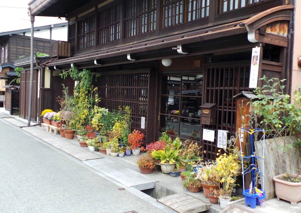 Les vieilles maisons traditionnelles de Takayama, Japon.