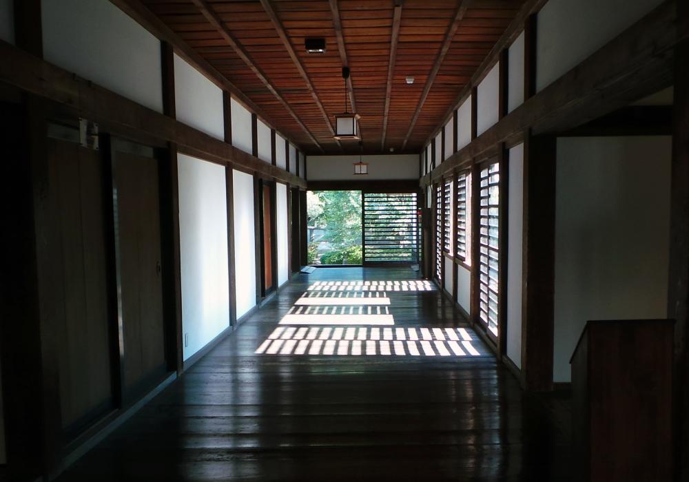 Intérieur de palais à Kawagoe, près de Tokyo, Japon.