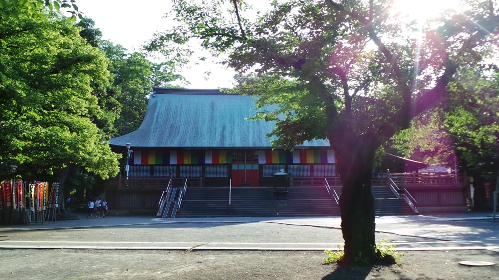 Temple de Kawagoe, près de Tokyo, Japon.