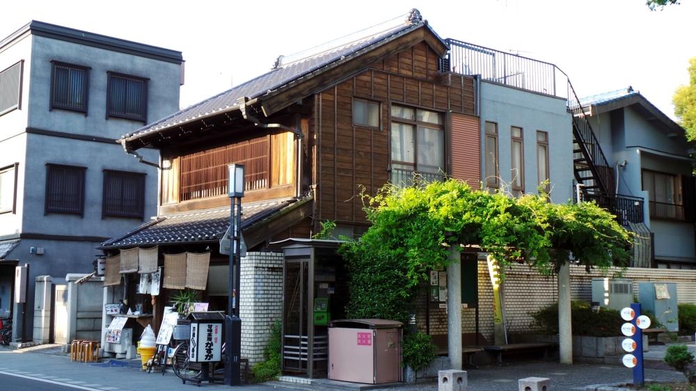 Maisons traditionnelles japonaises à Kawagoe près de Tokyo
