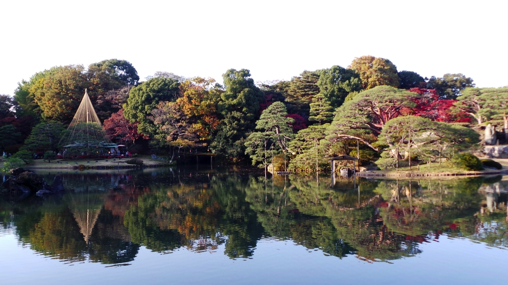 Jardin japonais incontournable à Tokyo, Japon