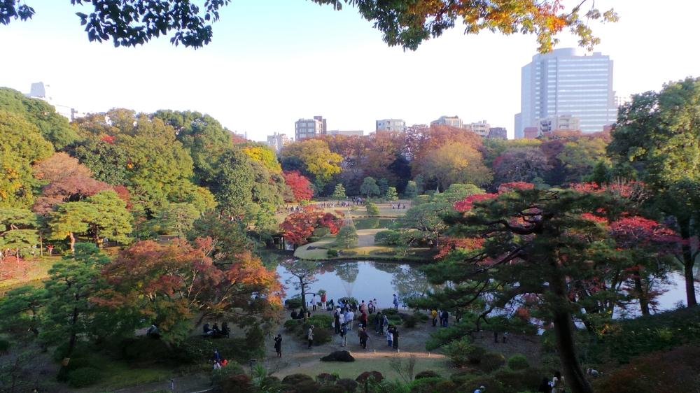Le jardin Rikugi en, un parc à faire à Tokyo